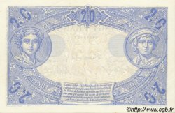 20 Francs BLEU FRANCE  1912 F.10.02 SPL+