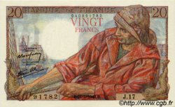 20 Francs PÊCHEUR FRANCE  1942 F.13.02 pr.NEUF