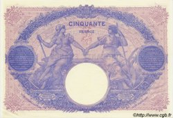 50 Francs BLEU ET ROSE FRANCE  1914 F.14.27 pr.SPL