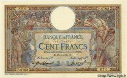 100 Francs LUC OLIVIER MERSON sans LOM FRANCE  1920 F.23.12 SUP+