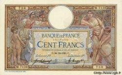 100 Francs LUC OLIVIER MERSON sans LOM FRANCE  1920 F.23.13 SUP+