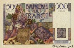 500 Francs CHATEAUBRIAND FRANCE  1947 F.34.07 pr.SPL