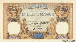 1000 Francs CÉRÈS ET MERCURE FRANCE  1932 F.37.07 SPL