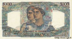 1000 Francs MINERVE ET HERCULE FRANCE  1949 F.41.25 SPL+