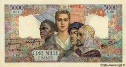 5000 Francs EMPIRE FRANÇAIS FRANCE  1944 F.47.08 pr.SPL