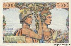 5000 Francs TERRE ET MER FRANCE  1957 F.48.14 SUP