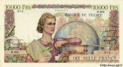 10000 Francs GÉNIE FRANÇAIS FRANCE  1950 F.50.26 SUP+ à SPL