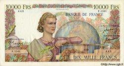 10000 Francs GÉNIE FRANÇAIS FRANCE  1951 F.50.47 TTB+
