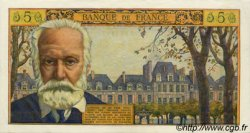 5 Nouveaux Francs VICTOR HUGO FRANCE  1961 F.56.07 SUP+
