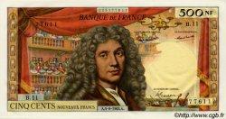 500 Nouveaux Francs MOLIÈRE FRANCE  1963 F.60.05 SPL