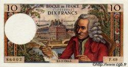 10 Francs VOLTAIRE FRANCE  1964 F.62.08 SPL+