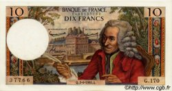 10 Francs VOLTAIRE FRANCE  1965 F.62.15 NEUF