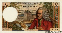 10 Francs VOLTAIRE FRANCE  1965 F.62.16 NEUF