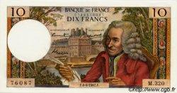 10 Francs VOLTAIRE FRANCE  1967 F.62.26 pr.NEUF
