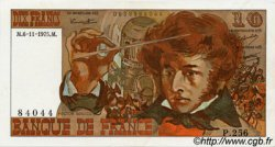 10 Francs BERLIOZ FRANCE  1975 F.63.14 SPL+