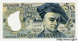 50 Francs QUENTIN DE LA TOUR FRANCE  1987 F.67.13 NEUF