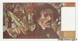 100 Francs DELACROIX modifié FRANCE  1979 F.69.03 NEUF