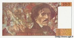 100 Francs DELACROIX imprimé en continu FRANCE  1990 F.69b.01b NEUF