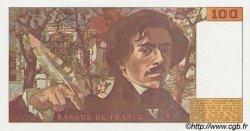 100 Francs DELACROIX imprimé en continu FRANCE  1990 F.69b.02a NEUF