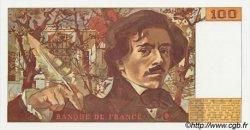 100 Francs DELACROIX imprimé en continu FRANCE  1991 F.69b.03c NEUF