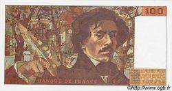 100 Francs DELACROIX imprimé en continu FRANCE  1991 F.69b.04a NEUF