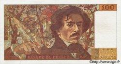100 Francs DELACROIX imprimé en continu FRANCE  1993 F.69b.05 pr.SPL