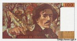 100 Francs DELACROIX 442-1 & 442-2 FRANCE  1994 F.69t.01b NEUF