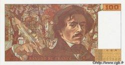 100 Francs DELACROIX 442-1 & 442-2 FRANCE  1995 F.69t.02a NEUF