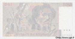 100 Francs DELACROIX uniface FRANCE  1993 F.69u.06 SUP