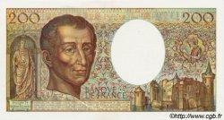 200 Francs MONTESQUIEU FRANCE  1990 F.70.10c pr.NEUF