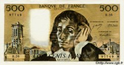 500 Francs PASCAL FRANCE  1971 F.71.07 pr.SPL