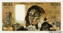 500 Francs PASCAL FRANCE  1973 F.71.09 pr.NEUF