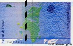 50 Francs SAINT-EXUPERY FRANCE  1992 F.72.01b NEUF