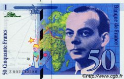 50 Francs SAINT-EXUPERY sans mouton FRANCE  1992 F.72.ter.01 NEUF