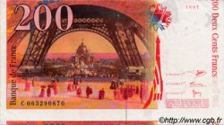 200 Francs EIFFEL FRANCE  1997 F.75.04b TTB+ à SUP