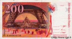 200 Francs EIFFEL sans STRAP FRANCE  1995 F.75bis.01 SUP+