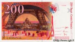 200 Francs EIFFEL sans STRAP FRANCE  1996 F.75bis.03 NEUF