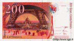 200 Francs EIFFEL pont en haut FRANCE  1999 F.75ter NEUF