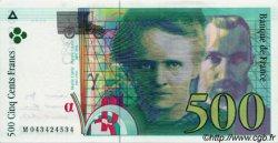 500 Francs PIERRE ET MARIE CURIE sans STRAP FRANCE  2000 F.76qua.05 pr.NEUF