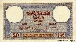20 Francs MAROC  1929 P.18a SUP