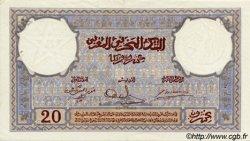 20 Francs MAROC  1941 P.18b SUP+
