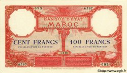100 Francs type 1920 MAROC  1926 P.14 SUP+