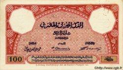 100 Francs MAROC  1920 P.14s SPL