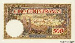 """500 Francs type 1923 / 1946, sans """"Payable..."""" MAROC  1948 P.15b NEUF"""