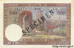 500 Francs type 1949 MAROC  1949 P.46s pr.NEUF
