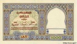 1000 Francs MAROC  1921 P.16a SUP