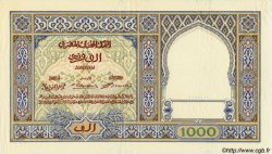 1000 Francs type 1921 MAROC  1921 P.16a SUP