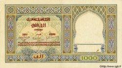 1000 Francs type 1921 MAROC  1931 P.16b TTB+