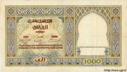1000 Francs MAROC  1939 P.16c TTB+