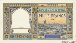 1000 Francs type 1921 MAROC  1921 P.16 pr.NEUF